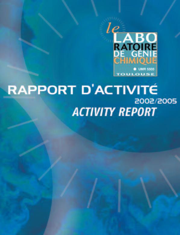 LGC Activity report 2002/2005